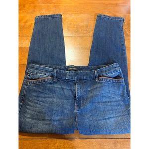 White House/Black Market Skinny Crop Denim Jeans